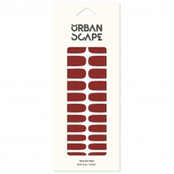 URBANSCAPE Premium Gel Nail Sticker - Color Line (Full) 44 MLBB 7622c