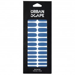 URBANSCAPE Premium Gel Nail Sticker - Color Line (Full) 45 Mute Blue 2160c