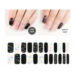 URBANSCAPE Premium Gel Nail Sticker - Real Gel Nail Strip 58 Neon Sign