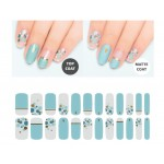 URBANSCAPE Premium Gel Nail Sticker - Real Gel Nail Strip 59 Sky Cotton