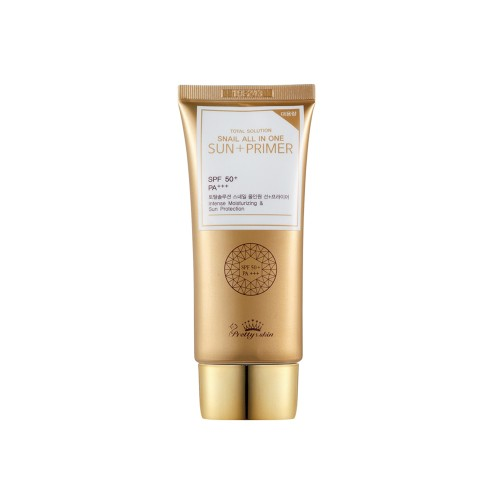 Pretty Skin Snail All In One Sun Primer