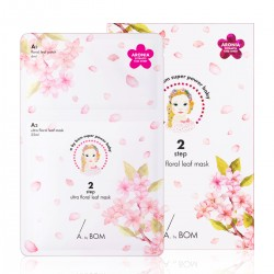 A by BOM ULTRA FLORAL LEAF MASK _ 2 step mask