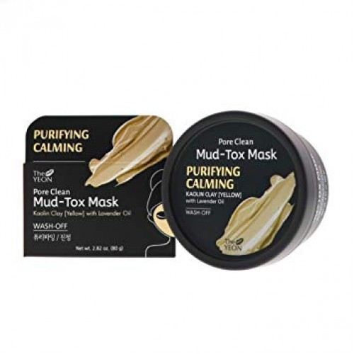 The YEON Pore Clean Mud-Tox Mask Yellow