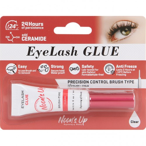 Noon's Up Eyelash glue 4ml Clear