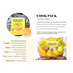CookPack The Fresh Yellow Rubber Mask