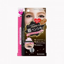 KissMe Heavy Rotation Powder Eyebrow Pencil 01 Light Brown