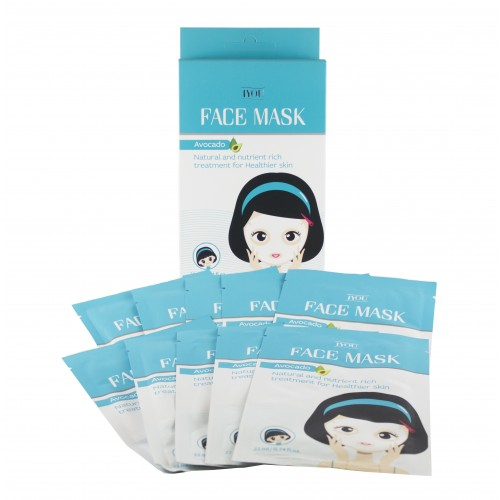 Avocado Face Mask - 10 Pack