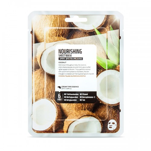 Farmskin SuperFood Coconut Facial Sheet Mask (10 packs)