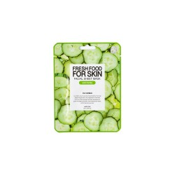 Farmskin Fresh Food For Skin Facial Sheet Mask (Cucumber - Soothing) (10pcs)
