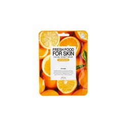 Farmskin Fresh Food For Skin Facial Sheet Mask (Orange - Refreshing) (10pcs)