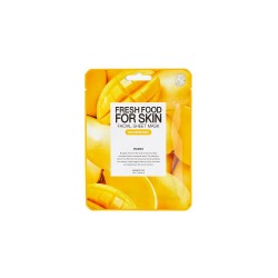 Farmskin Fresh Food For Skin Facial Sheet Mask (Mango-Nourishing) (10pcs)