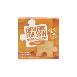 Farmskin Fresh Food For Skin Missing Puzzle Soap(Carrot) (8pcs)