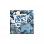 Farmskin Fresh Food For Skin Missing Puzzle Soap(Blueberry) (8pcs)