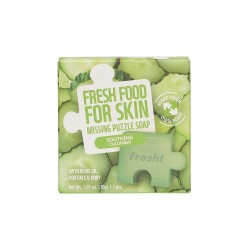 Farmskin Fresh Food For Skin Missing Puzzle Soap(Cucumber) (8pcs)