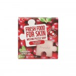 Farmskin Fresh Food For Skin Missing Puzzle Soap(Cranberry) (8pcs)