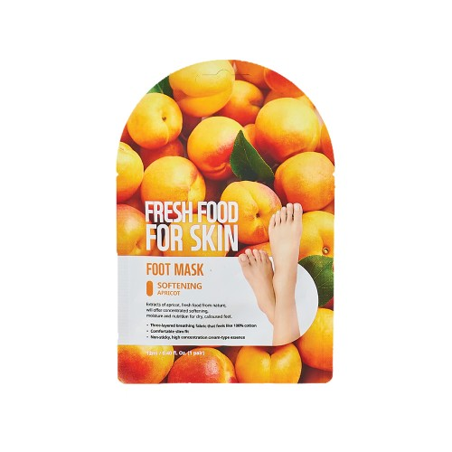 Farmskin FreshFood For Skin Softening Foot Mask Set (3 Packs)